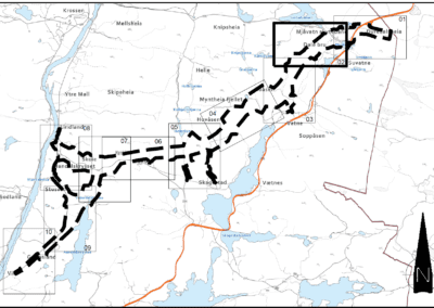Reguleringsplan for E39 Mandal øst – Greipsland (B-kontrakten)