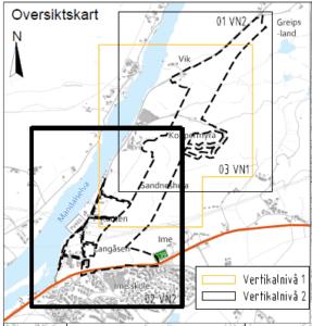 Vill Plan Reguleringsplan for tilførselsvei Greipsland  kart 2