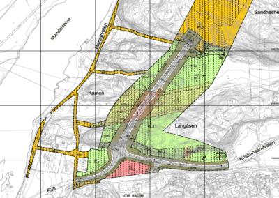 Reguleringsplan for tilførselsvei Greipsland – Ime (B-kontrakten)
